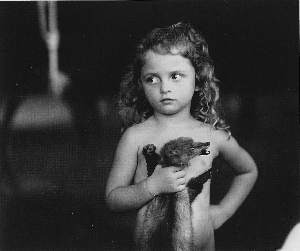 Sally-Mann-Holding-the-Weasel-1989